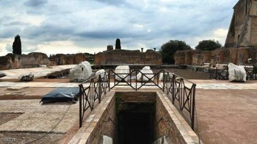 """روما تفتتح قصر """"نيرون"""" في عيدها"""