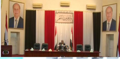عاجل .. وصول هادي لمقر البرلمان وبدء عملية انتخاب هيئة الرئاسة البرلمانية
