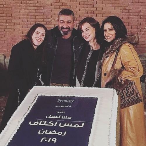 """تفاصيل دور حنان مطاوع في """" لمس أكتاف """" مع ياسر جلال"""