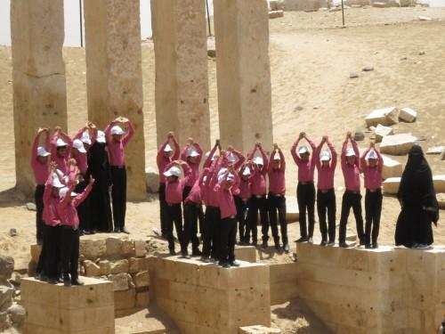 مركز الملك سلمان يُسير رحلة لـ 27 طفلاً في مأرب