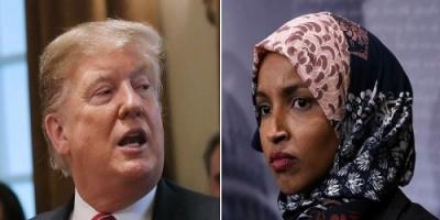 البيت الأبيض: ترامب لم يقصد الإساءة للبرلمانية المسلمة إلهان عمر