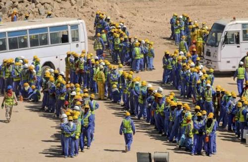 لإخفاء وفاة 1200 عاملًا.. شكوى دولية ضد جرائم قطر