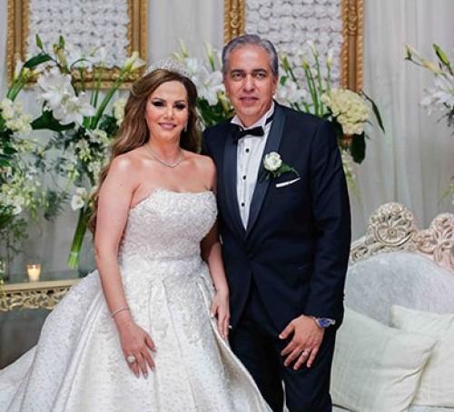 صور نجوم الفن في حفل زفاف جيهان منصور