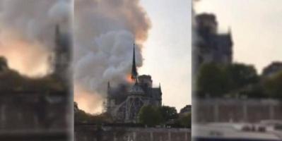 رويترز: لا إصابات في حادث كاتدرائية نوتردام بباريس وإخلاء المنطقة بالكامل