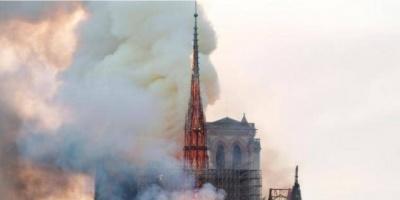 ترامب: أمر مروع رؤية حريق كاتدرائية نوتردام في باريس