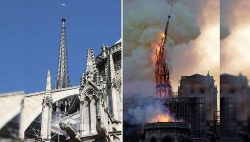 رئيس الأساقفة الكاثوليك بفرنسا: أعمال ترميم كاتدرائية نوتردام تحتاج سنوات