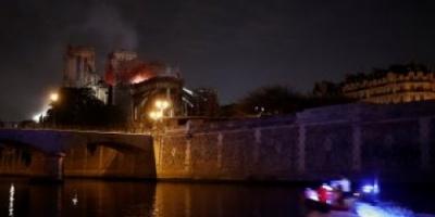 الفاتيكان: نصلي من أجل الأفراد المشاركين في إطفاء حريق كاتدرائية نوتردام المأساوي