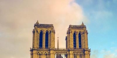 بومبيو يعلق على حريق كاتدرائية نوتردام في باريس