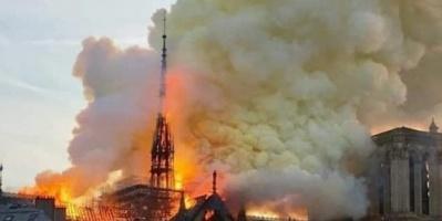 """مدعي عام باريس: حريق """" نوتردام """" قد يكون عرضيًا"""