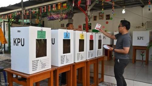 اليوم.. الانتخابات الرئاسية والبرلمانية في إندونيسيا