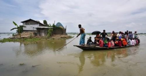 مصرع 25 شخصا على الأقل جراء الأمطار بالهند