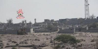قصف جديد من مليشيا الحوثي لمواقع العمالقة بالدريهمي