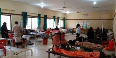 """منسق المنظمات بالمسيمير لـ """"المشهد العربي"""": 73 حالة إصابة بالكوليرا في لحج منذ بداية إبريل"""