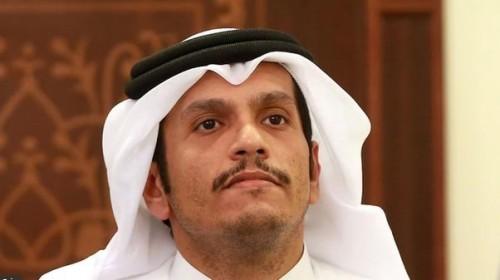 النعيمي يوجه رسالة إلى وزير خارجية قطر