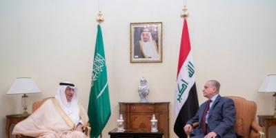 وزير الخارجية السعودي يلتقي نظيره العراقي في الرياض