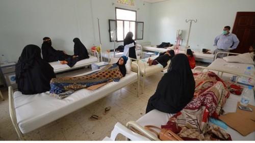 منظمة دولية: 195 ألف حالة إصابة بالكوليرا في اليمن خلال 2019