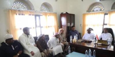 زيارة خاصة من باكريت لمنفذ الشحن البري الحدودي مع سلطنة عمان