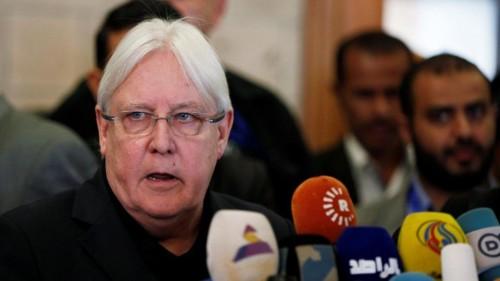 """""""الحوثي يحلم وجريفيث ينفذ"""".. شهادة حكومية تفضح التوجّهات الأممية"""