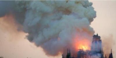 فرنسا تكشف سبب من يقف وراء كارثة حريق كاتدرائية نوتردام