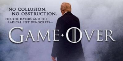 """ترامب يستخدم """"لعبة العروش"""" للإعلان عن براءته من التواطؤ مع الروس في الانتخابات الرئاسية"""