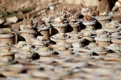 إتلاف أكثر من 5 آلاف لغم حوثي في الجوف