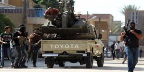 شاهد.. جريمة بشعة لمليشيات قطر وتركيا في طرابلس
