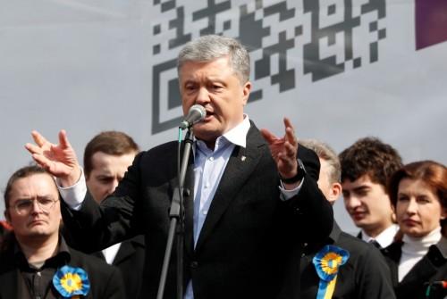 الرئيس الأوكراني يدعو أنصاره للمشاركة بقوة فى الإنتخابات الرئاسية