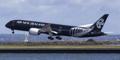 هبوط اضطراري لطائرة نيوزيلندية بعد اصطدامها بشيء غريب بالجو