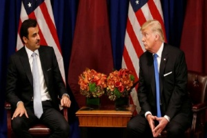 ترامب يصفع تميم بعد رفضه إدراج الحرس الثوري على لائحة الإرهاب
