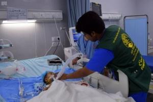 سلمان للإغاثة يجري 15 عملية في اليوم الخامس من الحملة الطبية بالمكلا