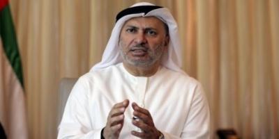 قرقاش: المبادرات السعودية الإماراتية خيرة في معناها وسامية في أهدافها