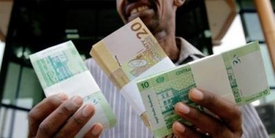 البنك المركزي السوداني يرفع سعر الجنيه