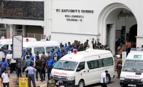ارتفاع عدد ضحايا تفجيرات سريلانكا إلى 290 قتيلا ونحو 500 جريح