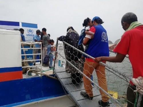 إجلاء 115 صومالياً من اليمن إلى بلادهم