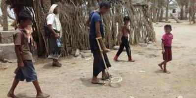هيومن رايتس تكشف عن أدلة لاستخدام الحوثيين ألغام أرضية مضادة للأفراد