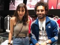 جيسي عبدو ترد على منتقديها بعد صورتها مع محمد صلاح