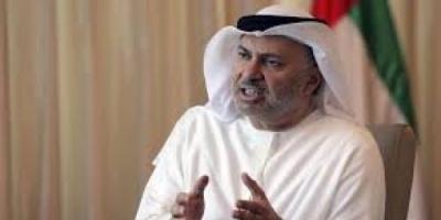 قرقاش يُوجه رسالة نارية للنظام القطري
