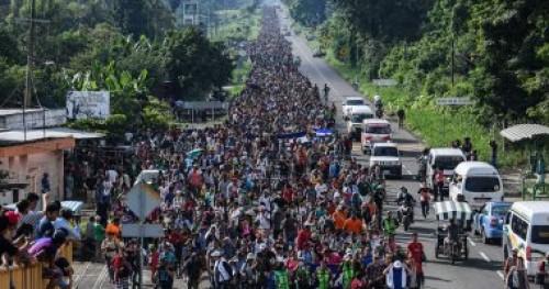 المكسيك: اعتقال مئات المهاجرين القادمين من أمريكا