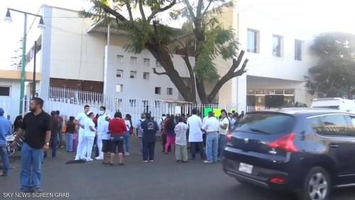 زلزال بقوة 5.4 ريختر يضرب المكسيك