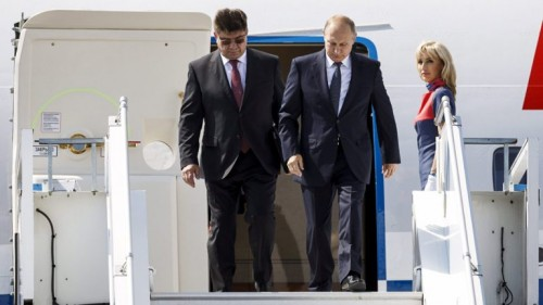 """""""بوتن"""" يصل إلى فلاديفوستوك لعقد أول قمة له مع """"كيم"""""""