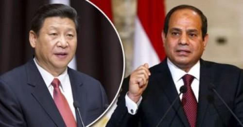 الرئيس الصيني يستقبل نظيره المصري لعقد مباحثات ثنائية موسعة