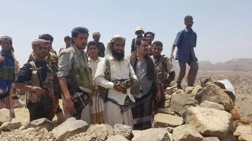 الحزام الأمني بالمسيمير يعزز القوات المقاتلة على الحدود مع تعز