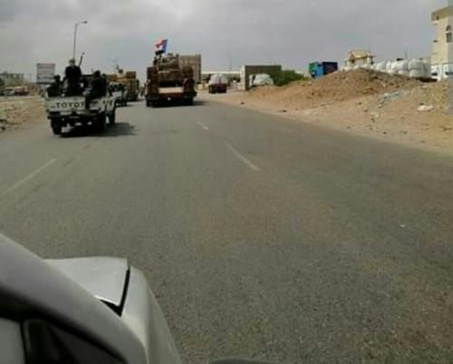 القوات الجنوبية تستعيد موقعي الموقب والشجفاء في مديرية الأزارق