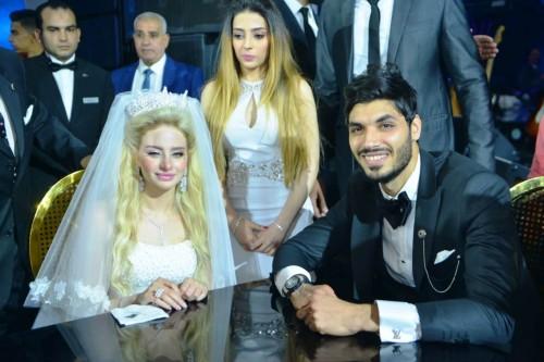 حفل زفاف علي جبر لاعب نادي بيراميدز (صور)
