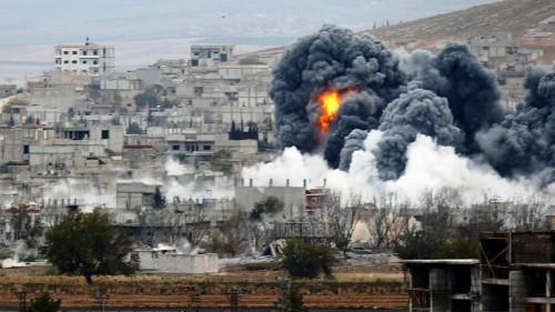 غارات جوية تقتل 10 مدنيين من بينهم طفلان بإدلب