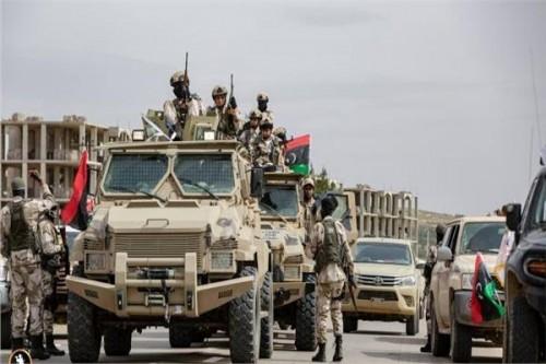 """الجيش الليبي يمهل مليشيا حكومة الوفاق معلة 48 ساعة لمغادرة """" سرت """""""