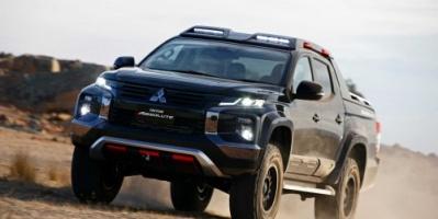 """ميتسوبيشي تغزو السوق الأمريكية بشاحنات الـ""""بيك آب"""" (صور)"""