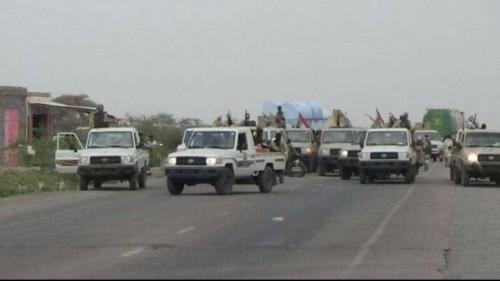 الحزام الأمني يدفع بتعزيزات عسكرية في أبين