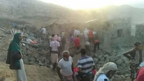 تفاصيل مقتل أمٍّ وخمسة من أطفالها في مجزرة حوثية بتعز