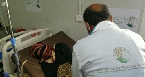 عيادات الملك سلمان الإغاثة تواصل تقديم الخدمات الطبية بالخوخة